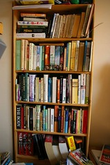 Spare Room Book Shelves