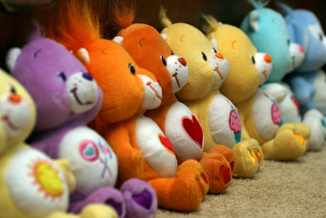 Care Bears line up