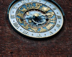 Oslo - City Hall Clock
