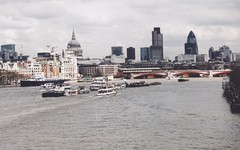 The View from the Millenium Bridge