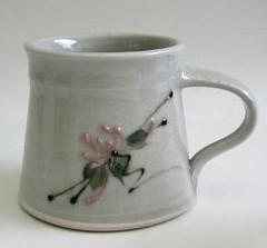 PPP. Celadon mug
