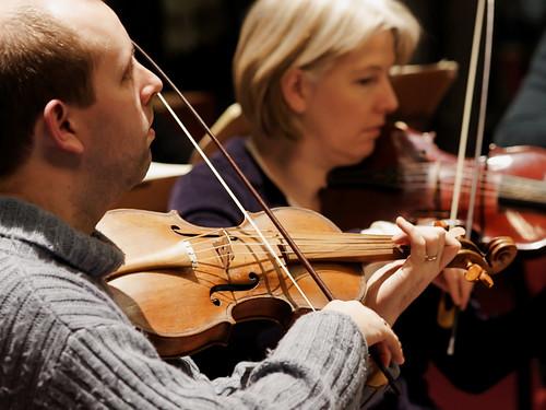 Ludus Baroque - Rehearsals for Christmas Oratorio