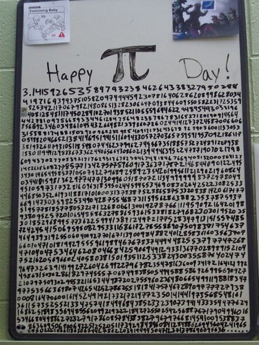 Pi Day - March 14, 2008