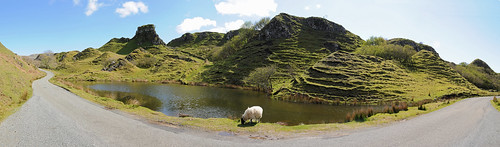 Fairy Glen Skye Panorama