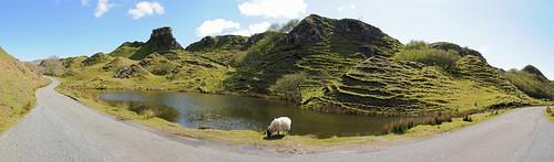 Fairy Glen Skye Panorama