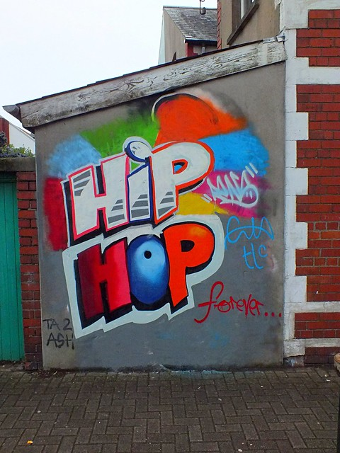 Enta-Hip hop grafitti