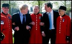 David Cameron a Boris Johnson