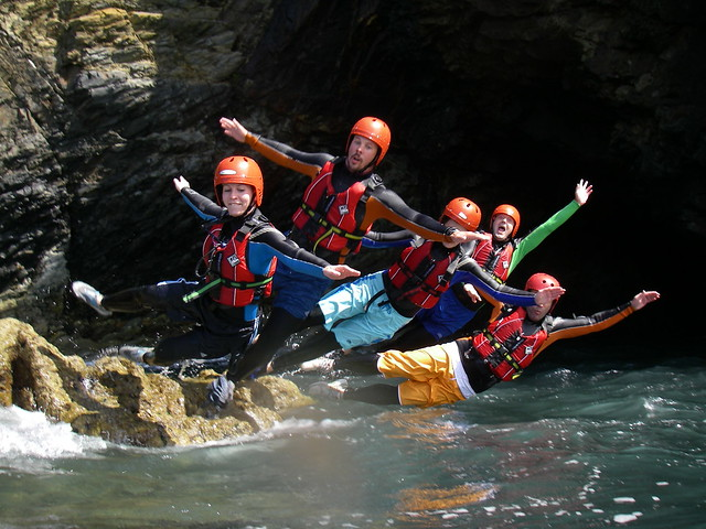 Coasteering (photo by celtic_quest_coasteering)