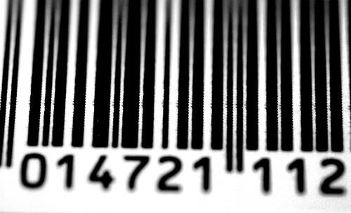 Barcode Close-Up