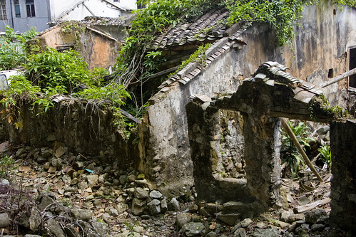 Photo: Crumbled Houses