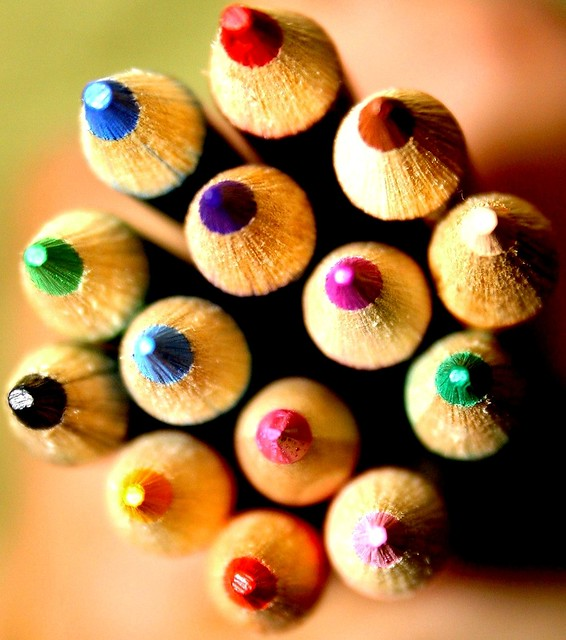 The colorful world of pencils!