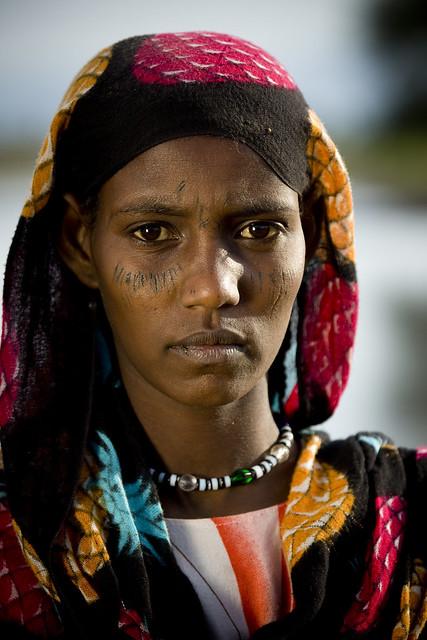 Afambo afar girl Ethiopia
