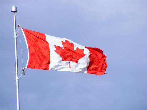 Drapeau du Canada à la Citadelle de Québec