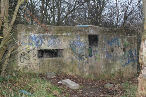 Pillbox in Thornaby Woods near Ingleby Barwick