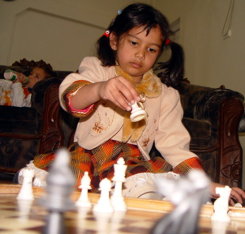 A Grandmaster in making.