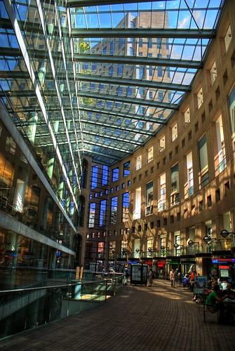 Vancouver Public Library Interior Courtyard