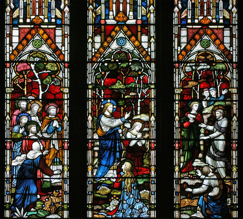 The raising of Lazarus, St. John's college chapel, Cambridge by TheRevSteve