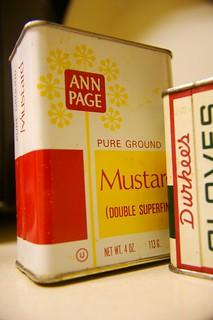 ANN PAGE Mustard