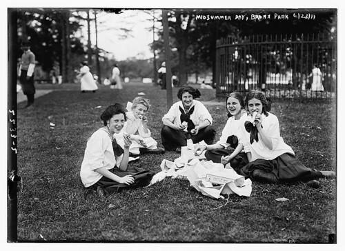 Midsummer Day, Bronx Park  (LOC)