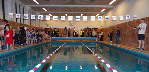 My home pool ready for 'FLOT stevnan 2008'