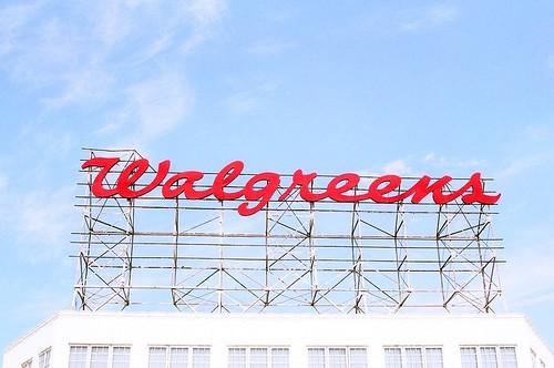 Walgreens Sign Miami