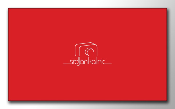 My business card - Red Side