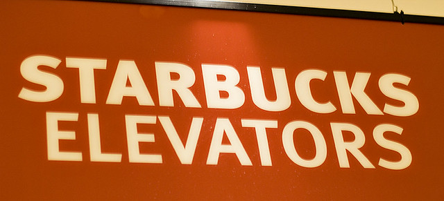 Starbucks Elevators