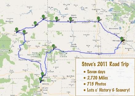Steve's 2011 Road Trip - 1