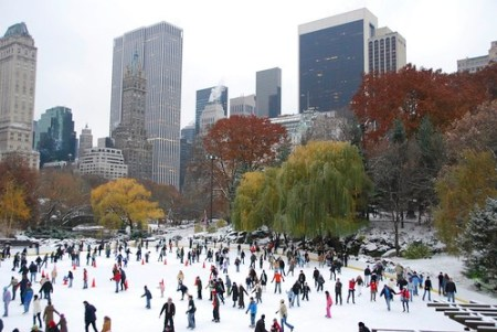 Wollman Rink a Central Park, New York
