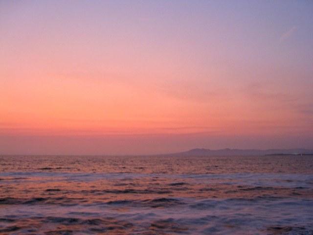 sunset over banderas bay