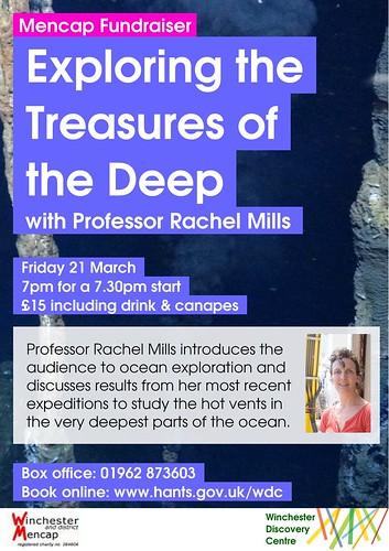 Poster for Prof Rachel Mills