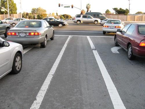 California bike lane