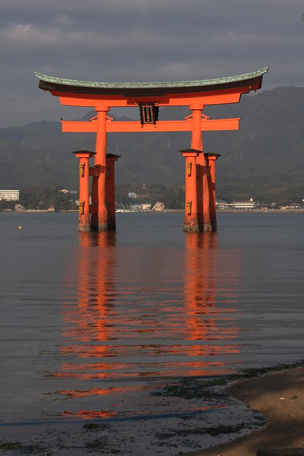 Morning at Torii Gate, Miyajima