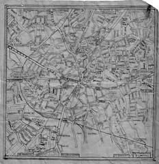 A historic map of Coventry