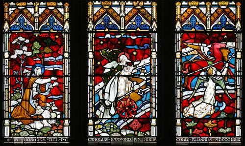 Ascent of Elijah, St. John's College, Cambridge by TheRevSteve