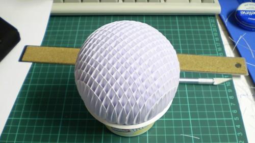Sphere Sliceform A Sphere Paper Sliceform Model The Circl Flickr Photo Sharing