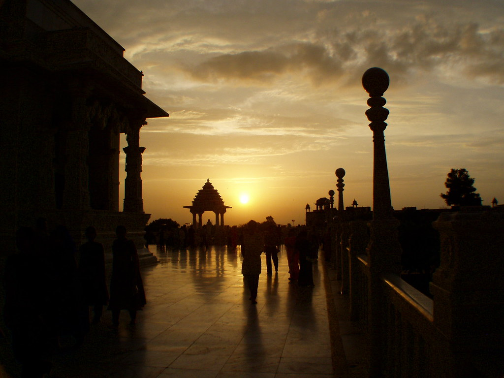 Sunset at Birla Mandir, Jaipur