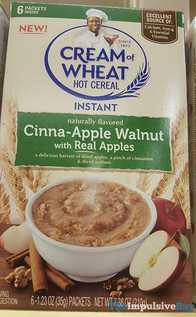 Cream of Wheat Cinna-Apple Walnut