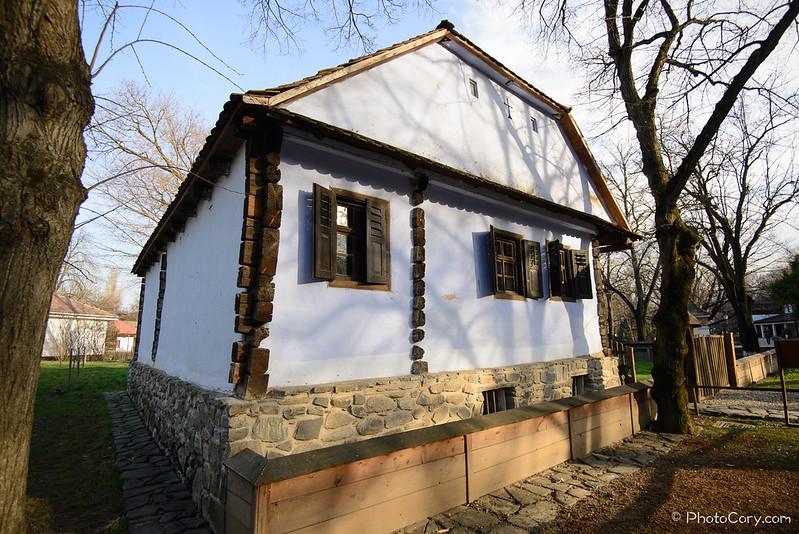 Muzeul satului casa
