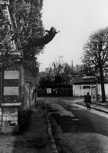 Ives Klein Salto al Vacío 1960