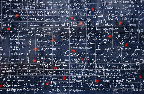 Montmartre, Paris (I love you wall)
