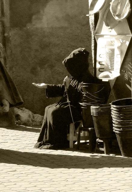 Souk Beggar
