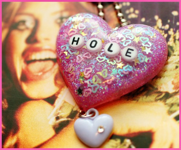 Miss World - HOLE resin necklace