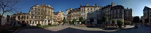 Place de la pucelle d'Orleans, Rouen, France by Ekeynox