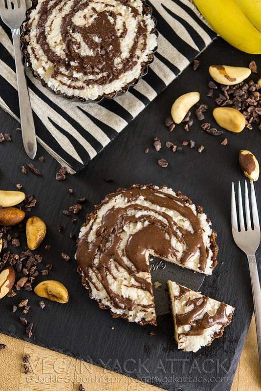 Jungle Pie with Banana, Coconut & Chocolate