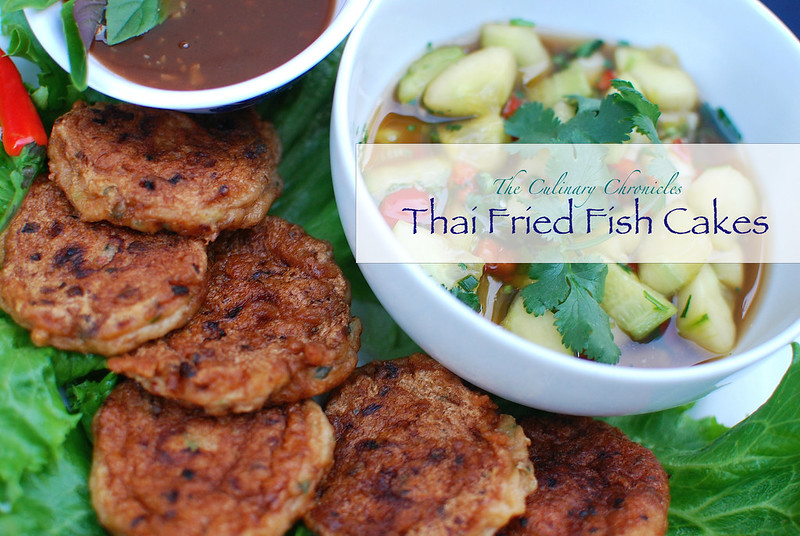 Thai Fried Fish Cakes