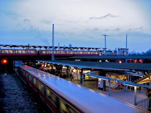 Est Berlin, Ostkreuz station - Berlin (Germany)