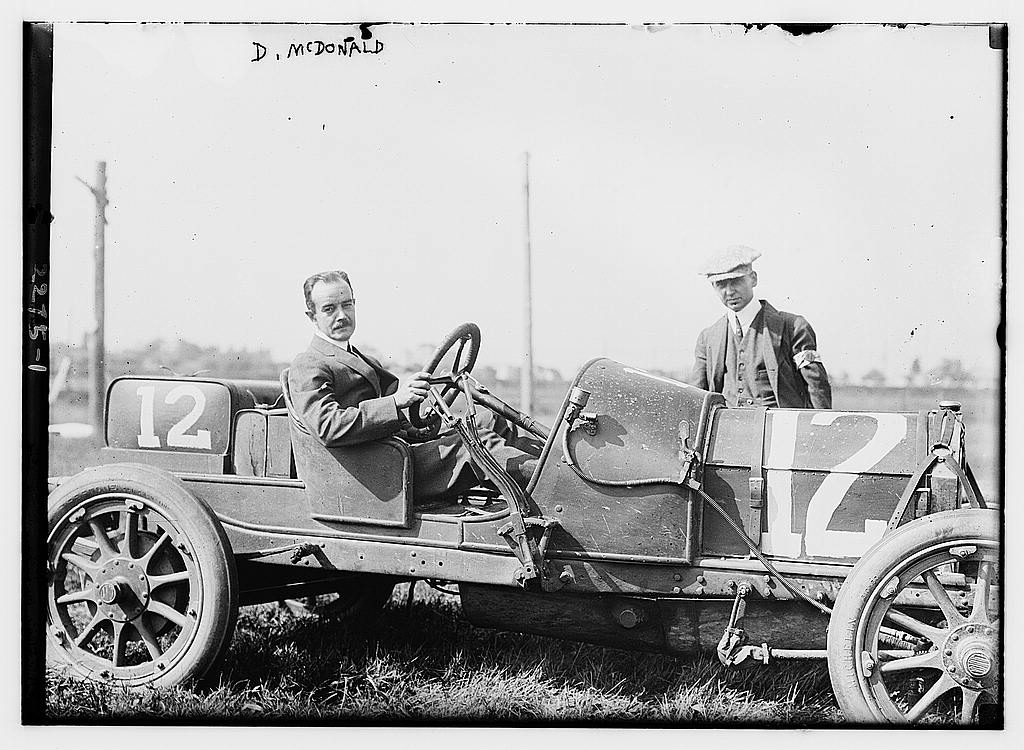 D. McDonald in car (LOC)