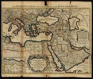 Ottoman Empire Antique Map