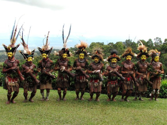 biggest baddest bucket list, Papua New Guinea indigenous people